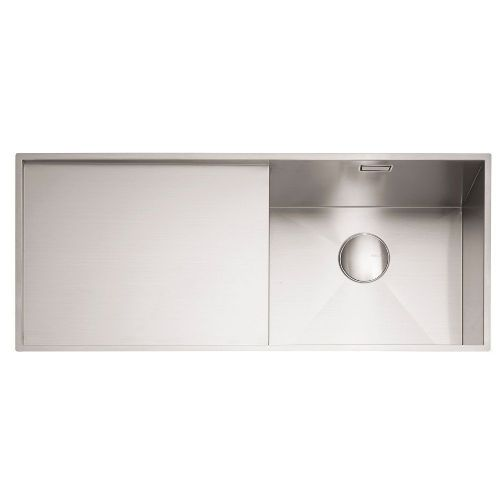 Caple Nada 100 Stainless Steel Single Bowl Inset Kitchen Sink